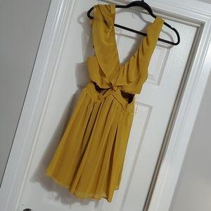 NWOT - Mustard Dress